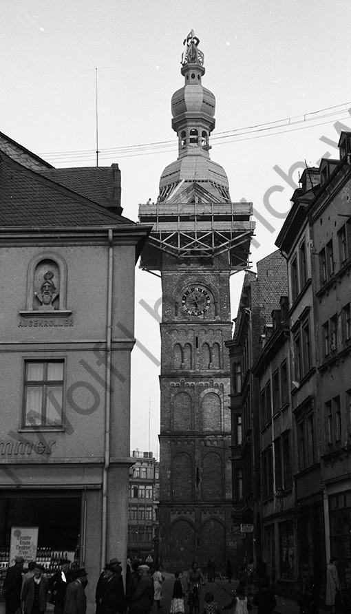 Liebfrauenkirche: Vom Münzplatz aus gesehen sieht es gut aus, Heinrich Wolf Fotograf Archiv Koblenz