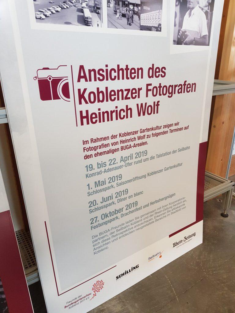 Ansichten des Koblenzer Fotografen Heinrich Wolf