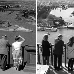 Kennen Sie Koblenz? 1953 und 2019.
