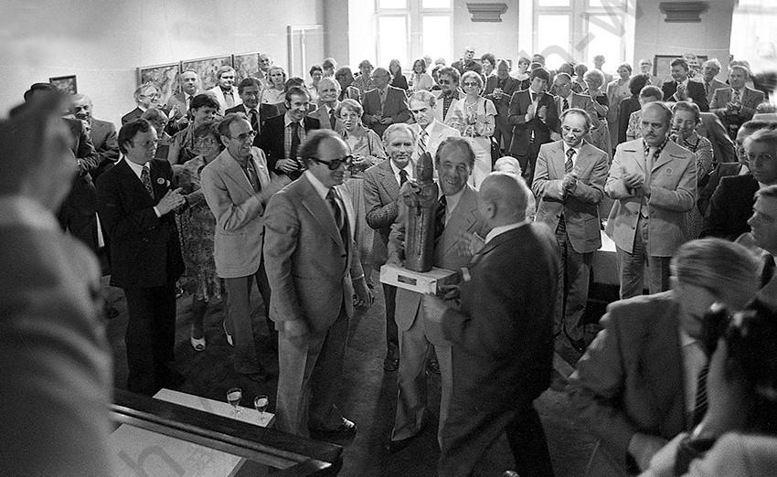 Vernissage Ausstellung Augenblicke Heinrich Wolf Koblenz Haus Metternich Münzplatz Altstadtpreis 1978